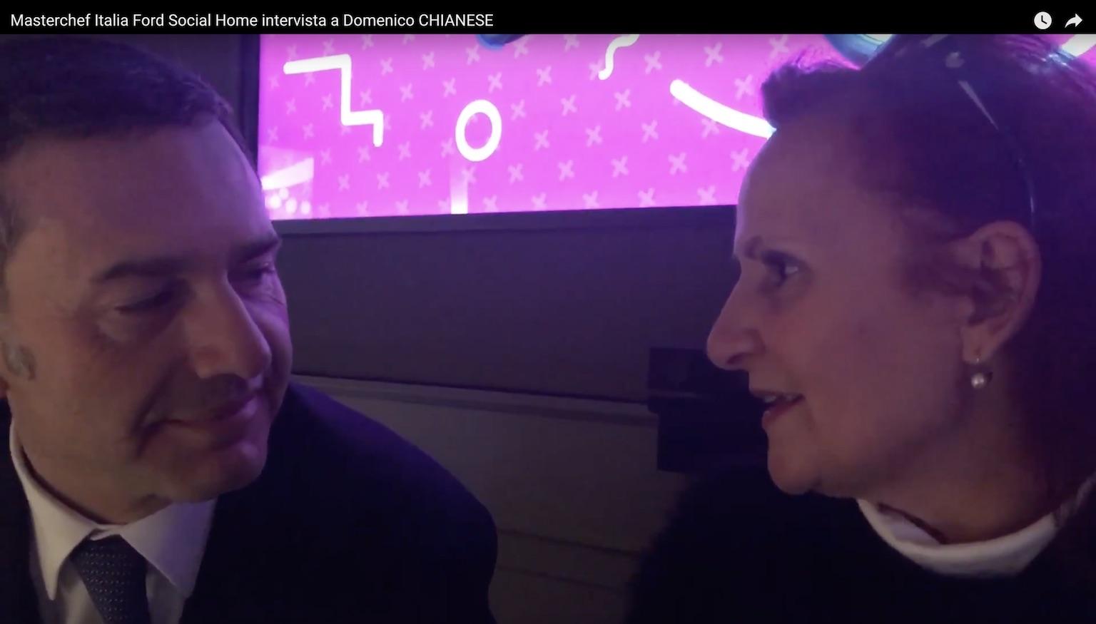 Domenico Chianese Ceo Ford Italia racconta Ford Social Home per Masterchef Italia: intervista di Maria Paola Guerra