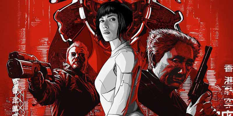 ghost in the shell poster copertina - Il nuovo video di Ghost in the Shell
