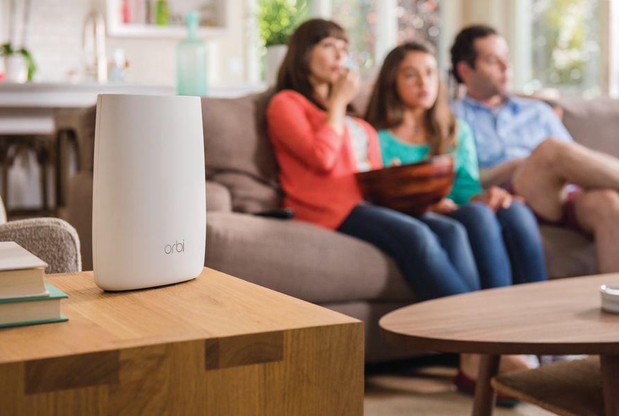 1.Netgear Orbi lifestyle risultato risultato - Recensione Netgear Orbi, il WiFi tri-band che supera ed innova il concetto di range extender multifunzionale