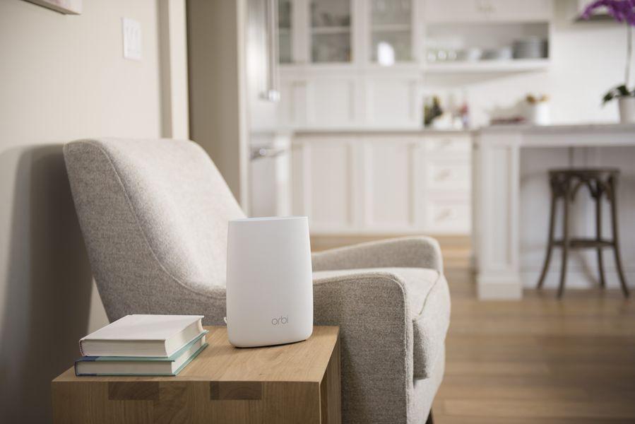 2.Netgear Orbi lifestyle risultato - Recensione Netgear Orbi, il WiFi tri-band che supera ed innova il concetto di range extender multifunzionale