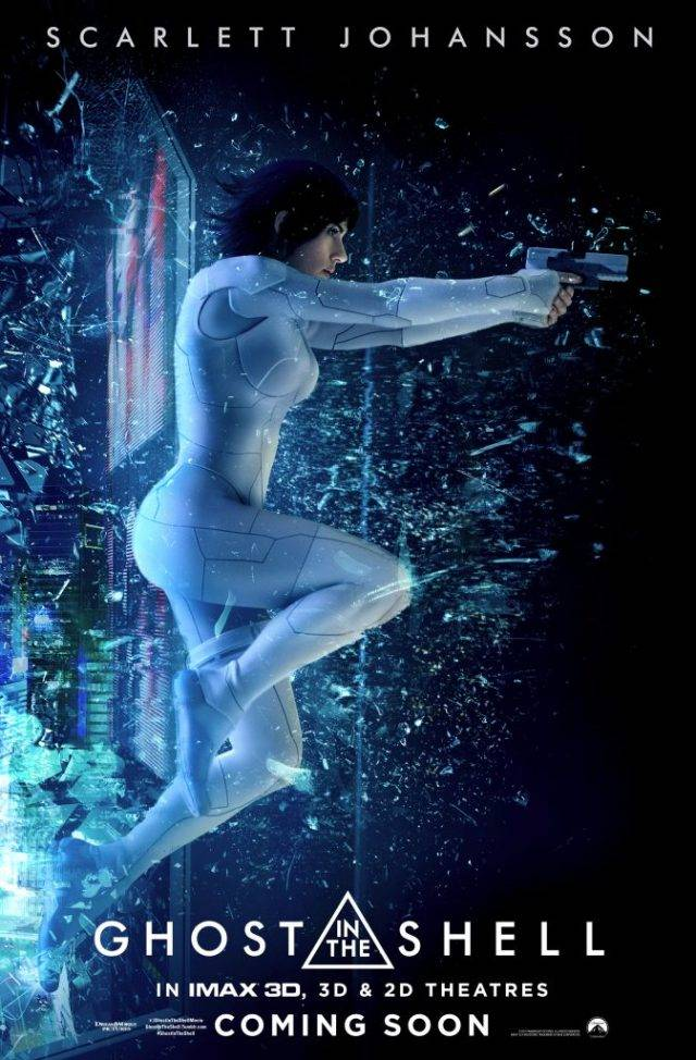 Ghost in the Shell Teaser Poster USA 01 mid - Ghost in the Shell - Nuovi poster per il film con Scarlett Johansson