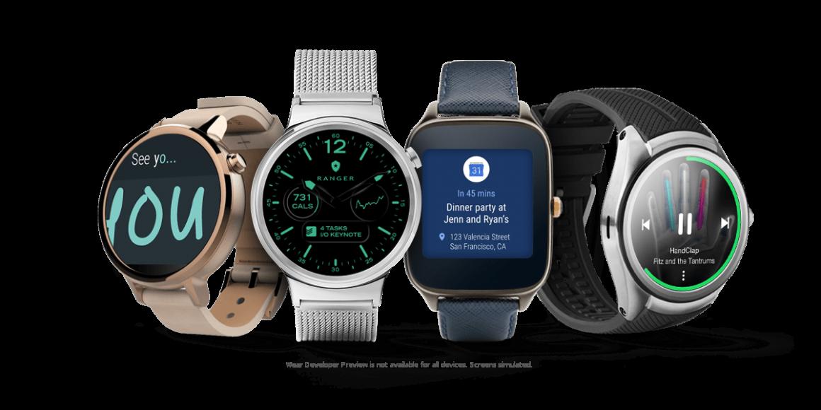 android wear 1160x580 - E' ufficiale, niente Android Wear 2.0 nel Sony SmartWatch 3. La lista