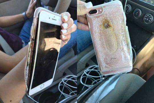 iphone 7 plus - A seguito esplosione iPhone 7 Plus aperta una indagine su Apple