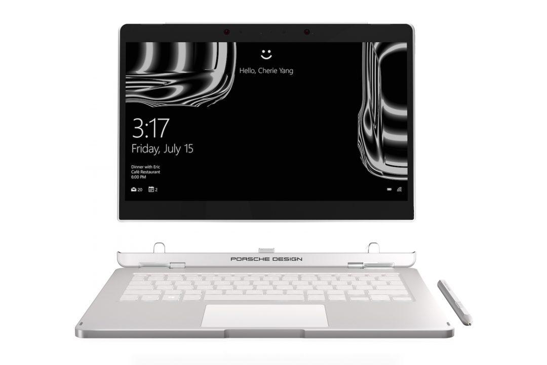 porsche design - Porsche Design Book One al MWC, il notebook e tablet 2 in 1 con Windows 10 Pro