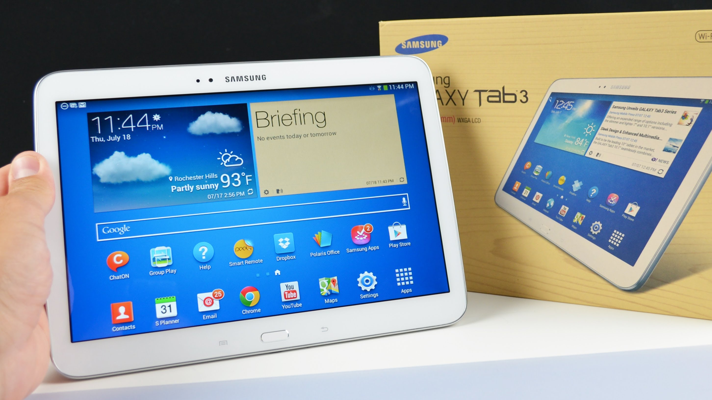 samsung galaxy tab3 - Tutte le novità al Mobile World Congress: Samsung Galaxy Tab S3 e Galaxy Book