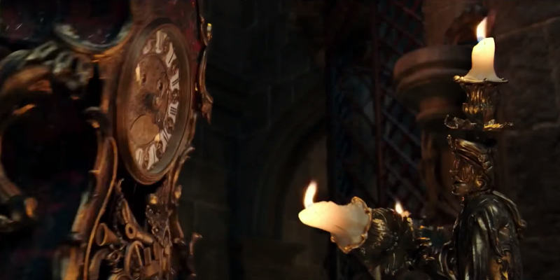 Beauty and the Beast - La Bella e la Bestia: una nuova clip con Lumière e Tockins
