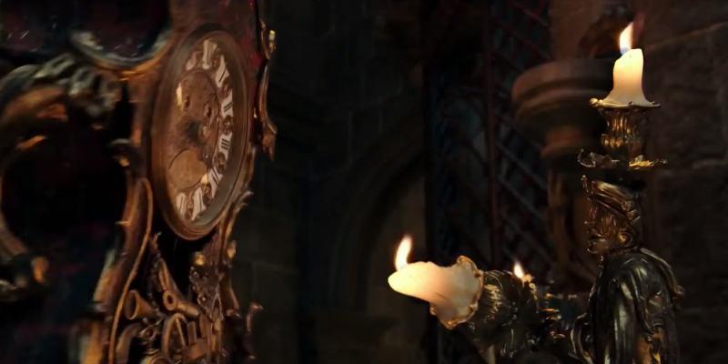 La Bella e la Bestia: una nuova clip con Lumière e Tockins