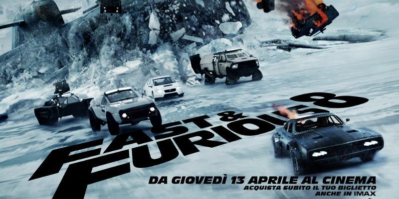 Fast   Furious 8 Poster Italia - Nuovo poster italiano per Fast & Furious 8