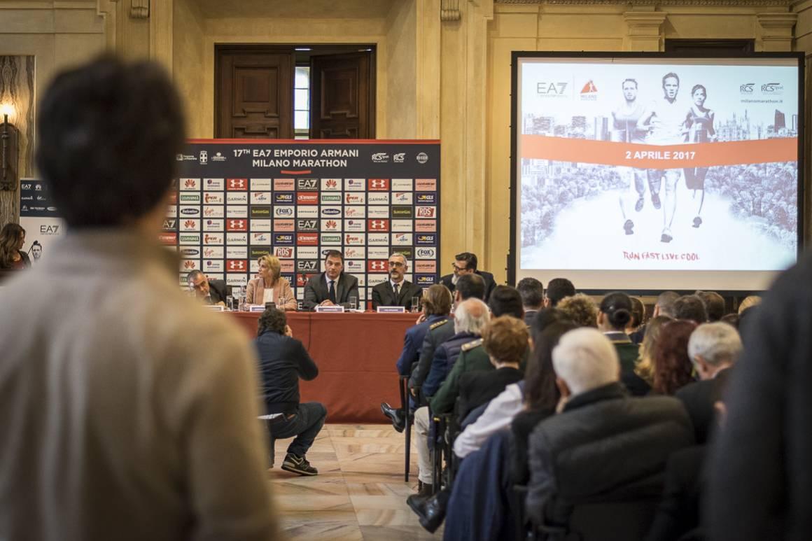 Nuovo nome per la Maratona di Milano 2017, grazie al nuovo sponsor EA7