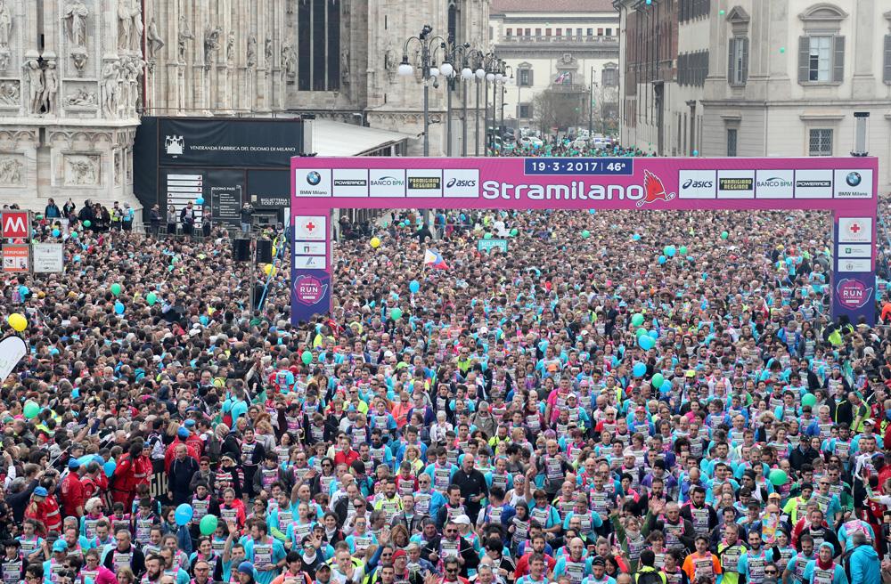 Stramilano 1 - Stramilano 2017 anticipa la primavera con un successo di 60.000 partecipanti