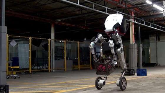handle - Boston Dynamics lancia il robot Google Handle che salta gli ostacoli oltre 1 metro