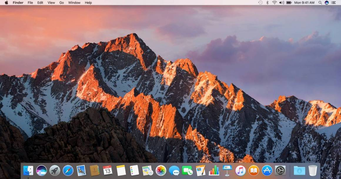 macos 1160x609 - macOS Sierra, rilasciato il nuovo aggiornamento: migliorano stabilità e sicurezza