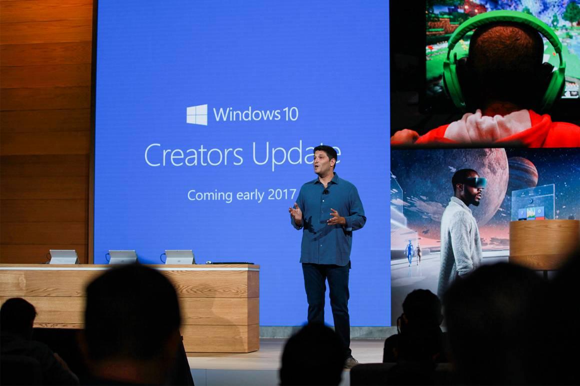 microsoft windows 1160x773 - Windows, il nuovo Creators Update: novità nel 3D e nei games, più sicurezza e velocità