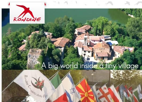 rondine cittadella della pace borgo - Fare la Pace è un'impresa. Emozionante convegno di Rondine Cittadella della Pace