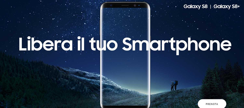 Samsung Galaxy S8, record di prevendite e primi problemi per l'assistente virtuale Bixby