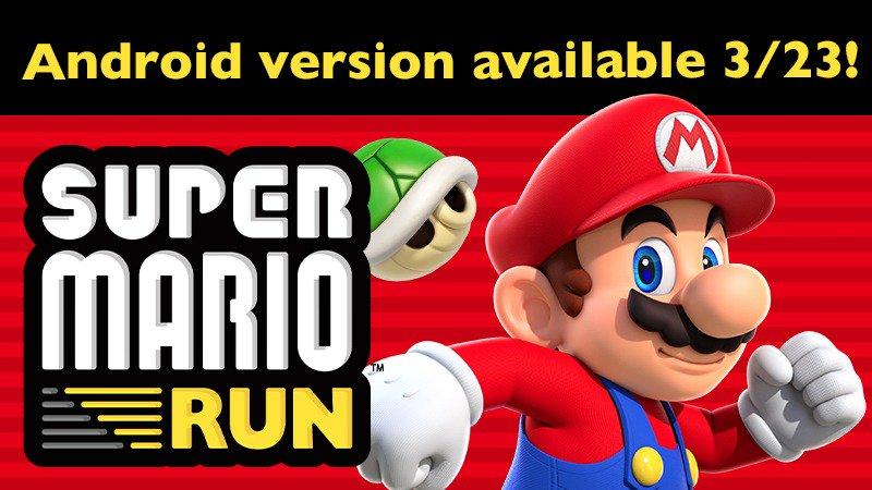 super mario - Super Mario Run esce il 23 marzo il primo gioco mobile anche su Android