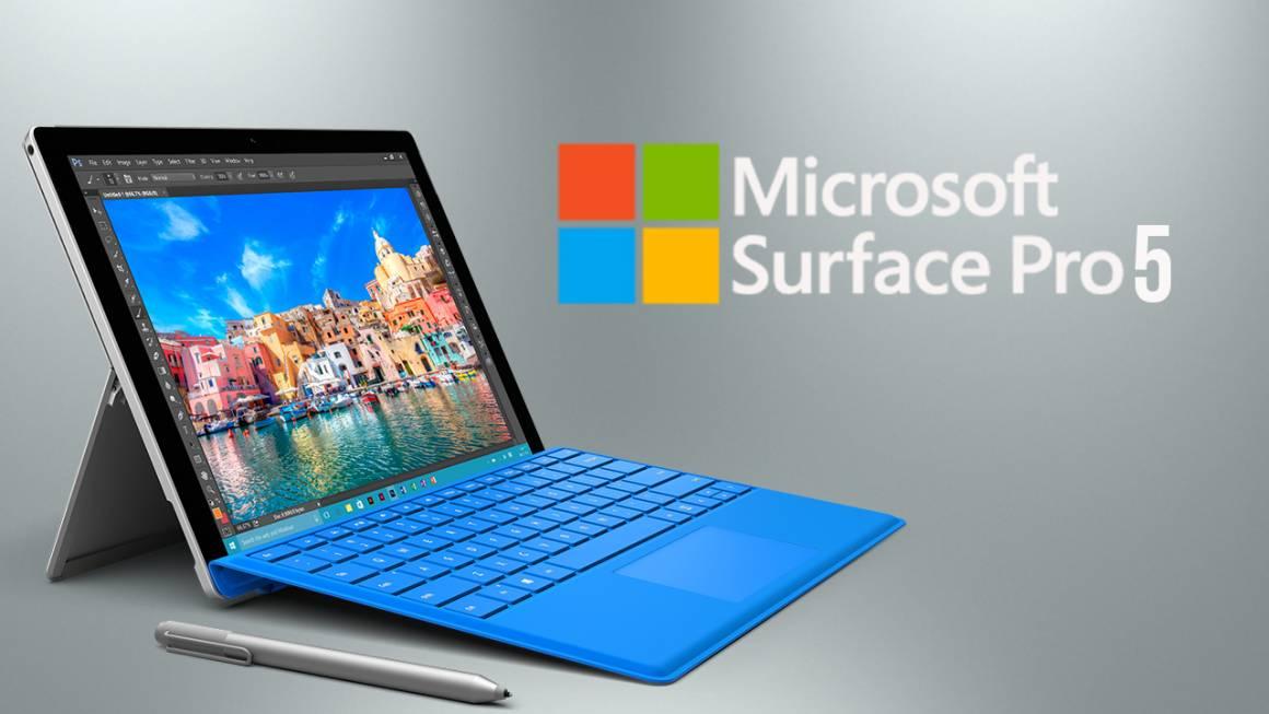Microsoft Surface Pro 5 1160x653 - Microsoft Surface, il 2-in-1 con nuovo processore. Ma non è rivoluzionario