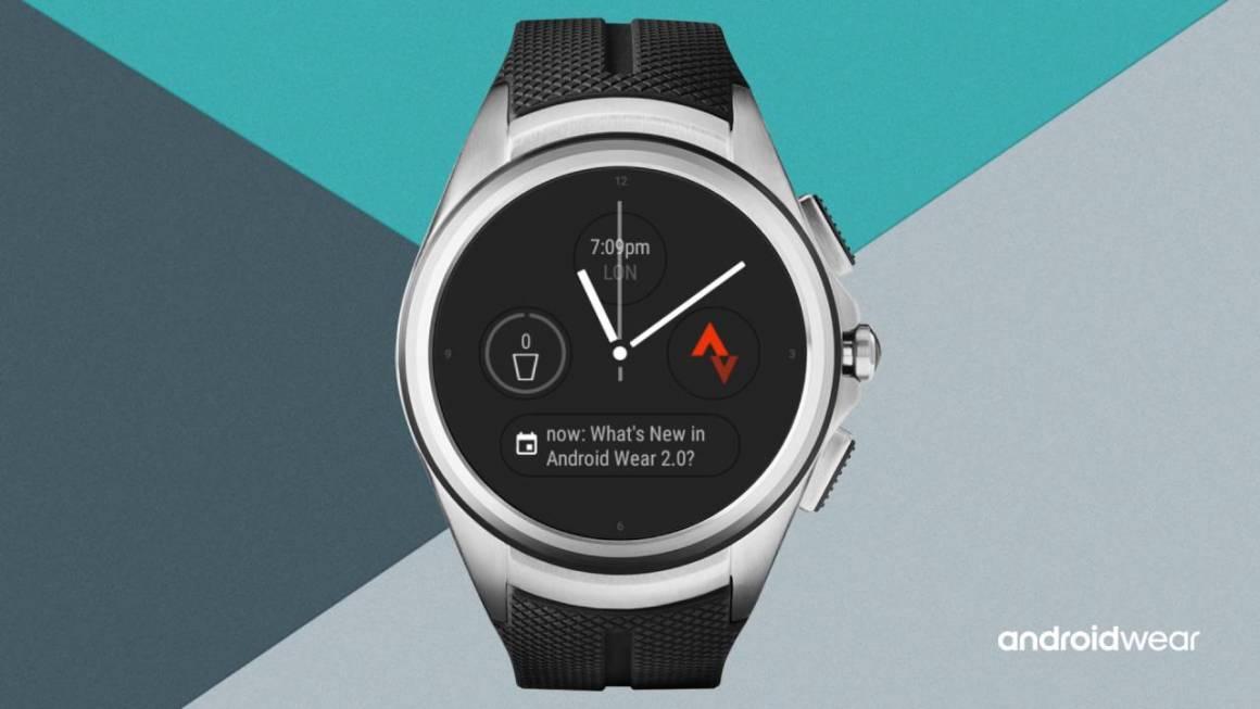 android wear 1160x653 - L'aggiornamento Android Wear 2.0 si fa desiderare. Problemi ma non per tutti gli smartwatch