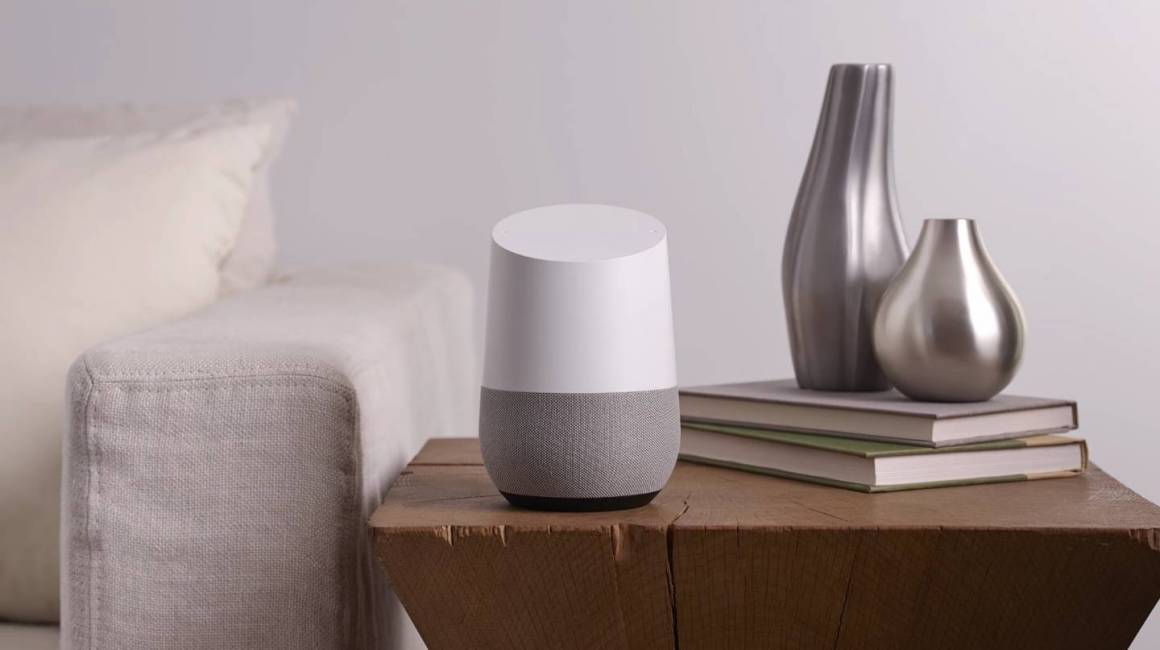 google home 1160x650 - Google Assistant, nuova funzione: messaggi vocali agli speaker home