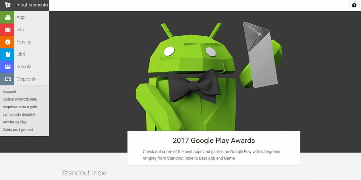google play awards 1160x580 - Google Play Awards: tutte le 12 categorie e le nomination dei migliori giochi