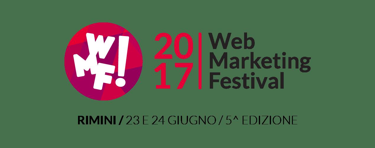 logoWMF17 - #WMF17 Torna il Web Marketing Festival. Appuntamento il 23-24 Giugno a Rimini per la 5^ edizione