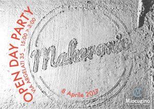 Miocugino lancia per il Fuorisalone la sesta edizione di Makeronic