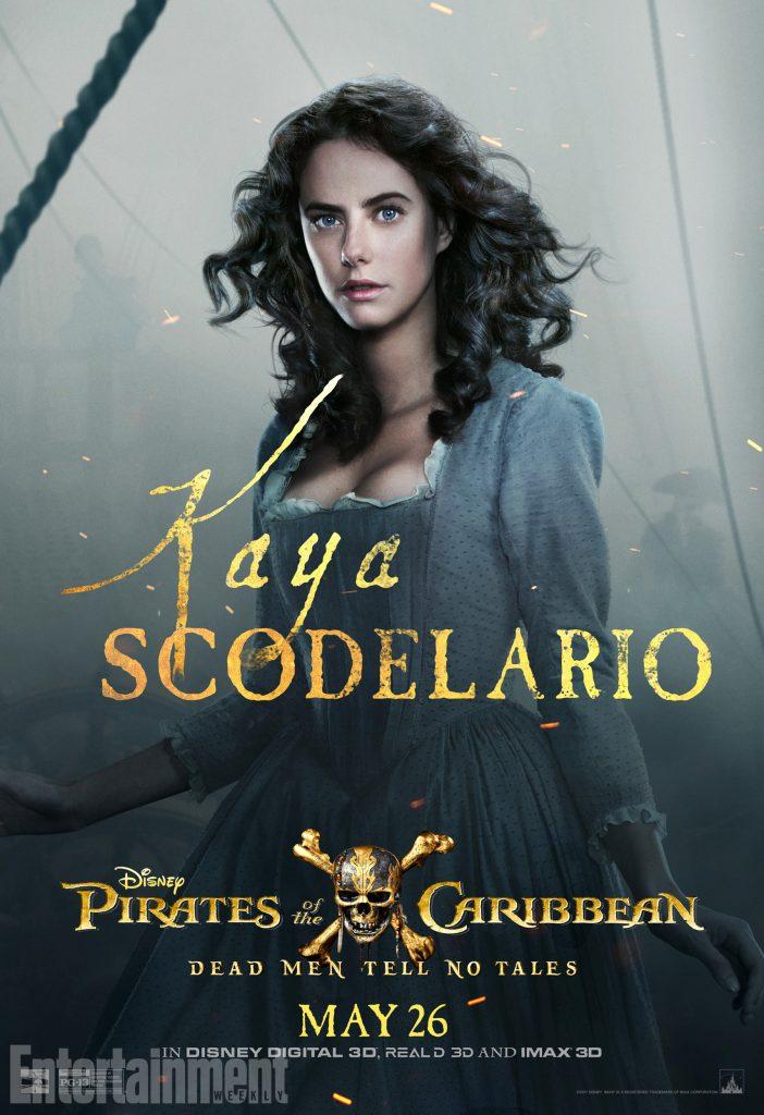 poc5 carina online v3 lg 702x1024 - I protagonisti di Pirati dei Caraibi: La vendetta di Salazar ritratti sui nuovi poster