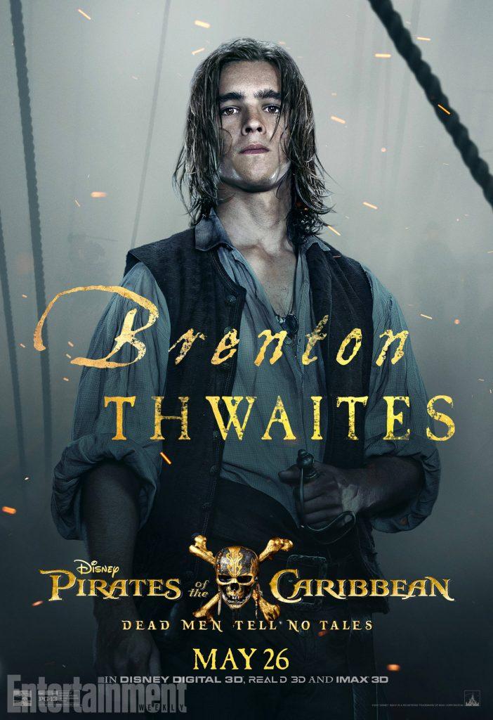 poc5 henry online v3 lg 702x1024 - I protagonisti di Pirati dei Caraibi: La vendetta di Salazar ritratti sui nuovi poster