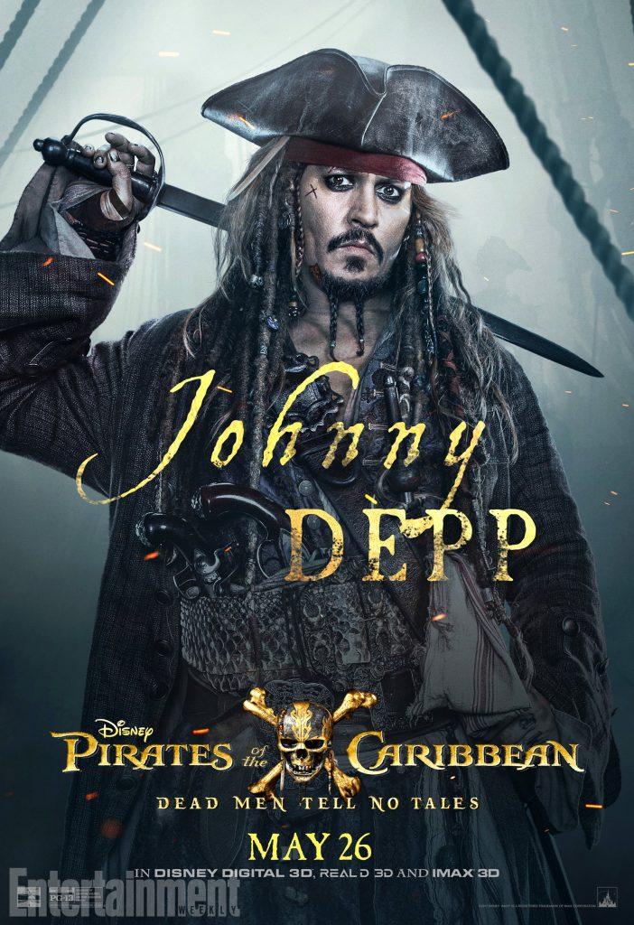 poc5 jack online v3 lg 702x1024 - I protagonisti di Pirati dei Caraibi: La vendetta di Salazar ritratti sui nuovi poster