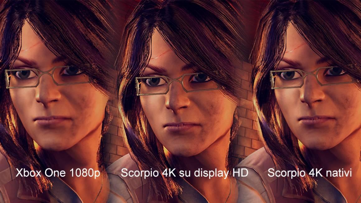 project scorpio 1 1160x653 - Project Scorpio, immagini ad altissima qualità in 4K. Confronto con la Xbox One