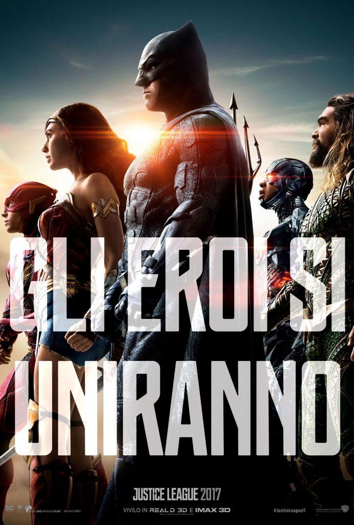 unnamed 691x1024 - Justice league - Ecco il teaser poster italiano