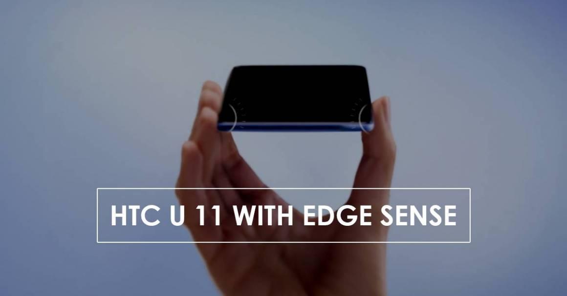 """HTC U 11 1160x607 - HTC U11, ottime vendite. Lo smartphone che si """"spreme"""" piace"""
