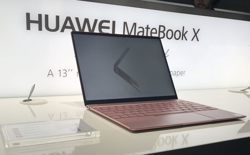 Huawei MateBook X - Huawei, MateBook X il primo con audio Dolby Atmos Sound System