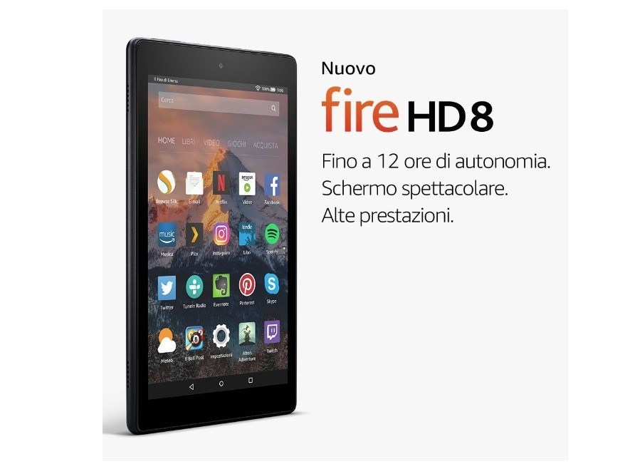fire hd 8 - Amazon, Fire 7 e Fire HD 8: tablet di fascia bassa ma con alte prestazioni