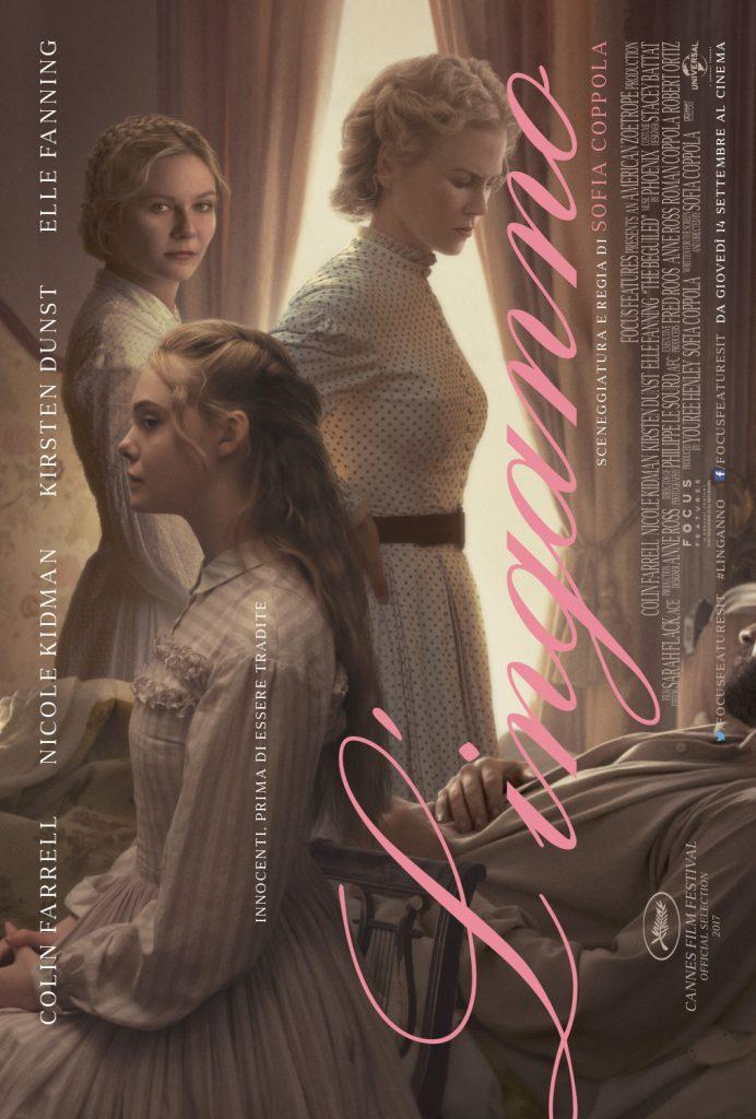 linganno poster 692x1024 - L'Inganno, il poster italiano del film che segna il ritorno di Sofia Coppola