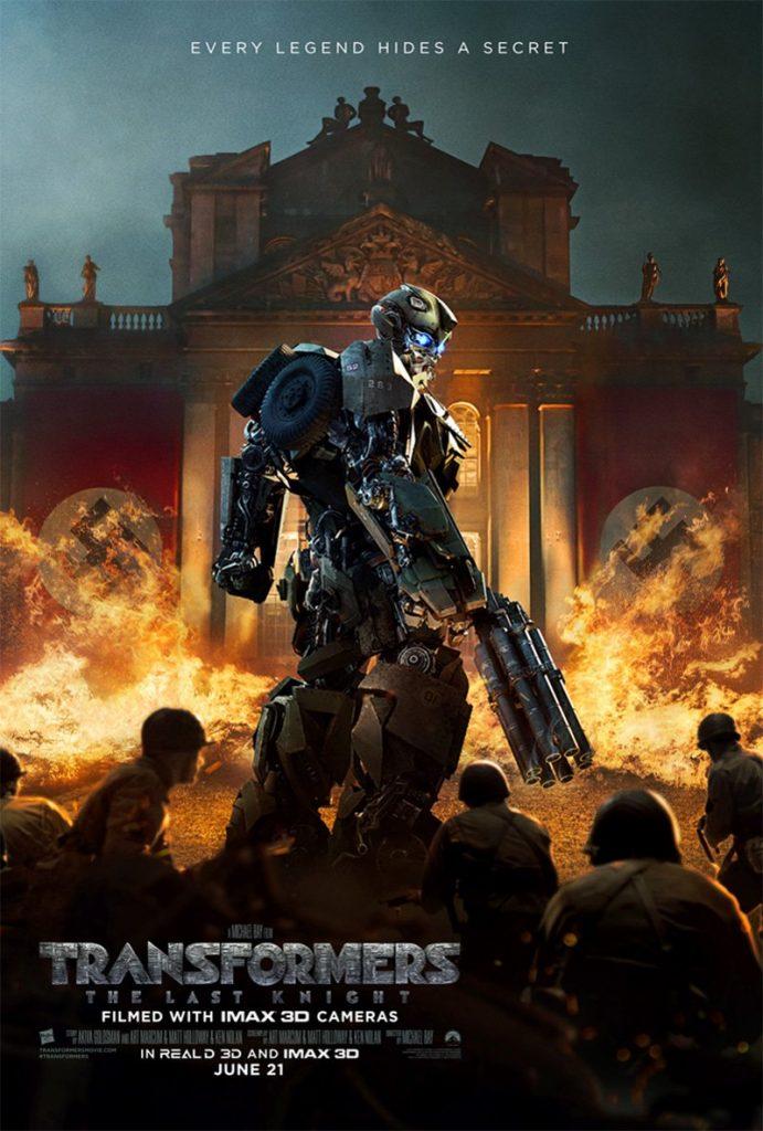 traqnspost 691x1024 - Transformers: L'Ultimo Cavaliere - Un nuovo poster con Bumblebee