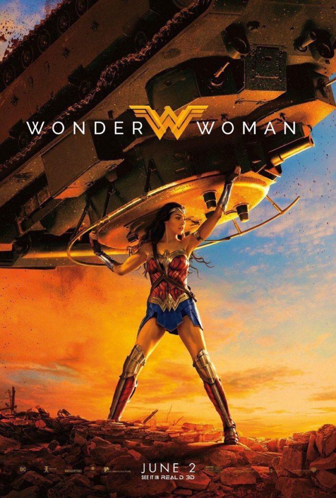 wonder woman tank 691x1024 - Tutta la potenza di Wonder Woman nel nuovo poster