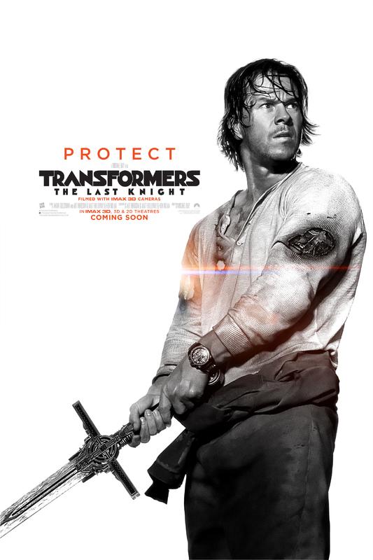 Transformers LUltimo Cavaliere Character Poster USA 02 - I protagonisti di Transformers: L'Ultimo Cavaliere ritratti sui nuovi poster
