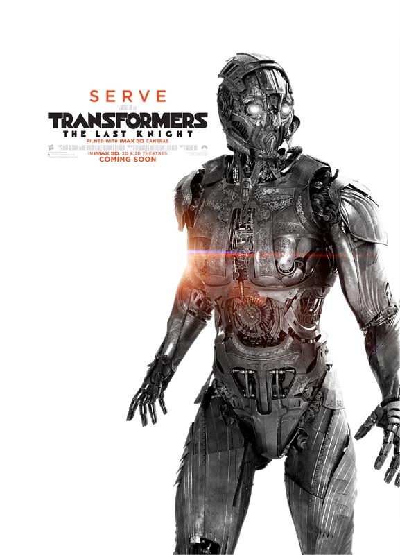 Transformers LUltimo Cavaliere Character Poster USA 03 - I protagonisti di Transformers: L'Ultimo Cavaliere ritratti sui nuovi poster
