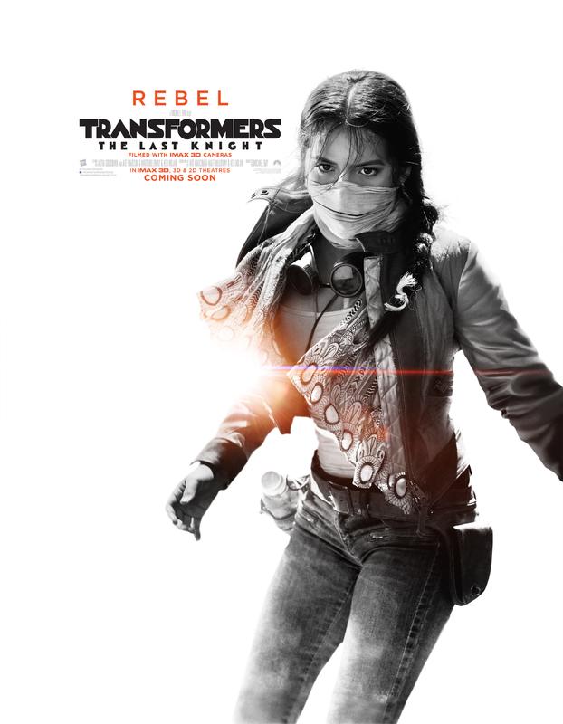 Transformers LUltimo Cavaliere Character Poster USA 06 - I protagonisti di Transformers: L'Ultimo Cavaliere ritratti sui nuovi poster