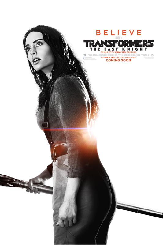 Transformers LUltimo Cavaliere Character Poster USA 11 - I protagonisti di Transformers: L'Ultimo Cavaliere ritratti sui nuovi poster