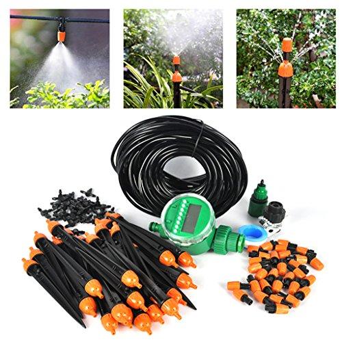 automatico 25 m diy micro sistema di irrigazione a goccia impianto d - Innaffia il tuo giardino e le tue piante da esterni con i migliori sistemi di irrigazione