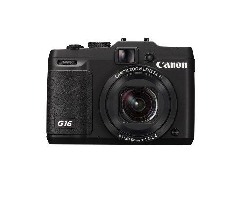 canon powershot g16 eu18 fotocamera compatta digitale 121 megapixel nero - Recensione della compatta Canon Powershot G16: caratteristiche e dettagli