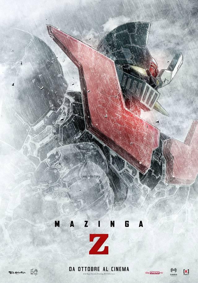 Mazinga Z Teaser Artwork Poster Italia mid - Mazinga Z da ottobre al cinema