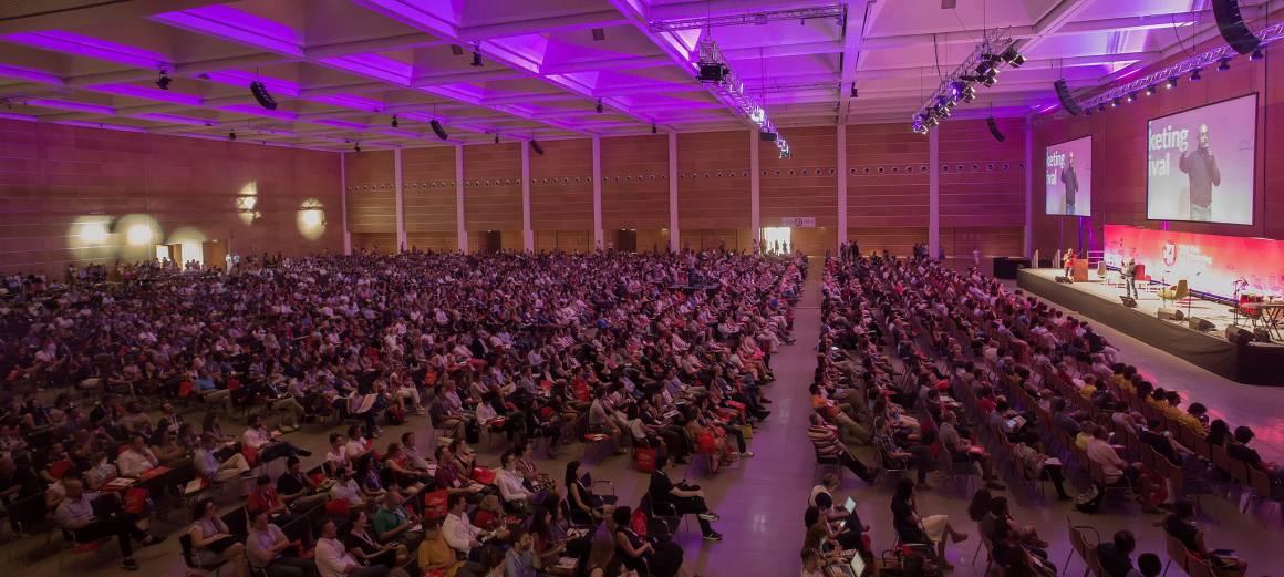 WMF plenaria 1160x521 - Web Marketing Festival, una quinta edizione da record: oltre 12mila le presenze a Rimini