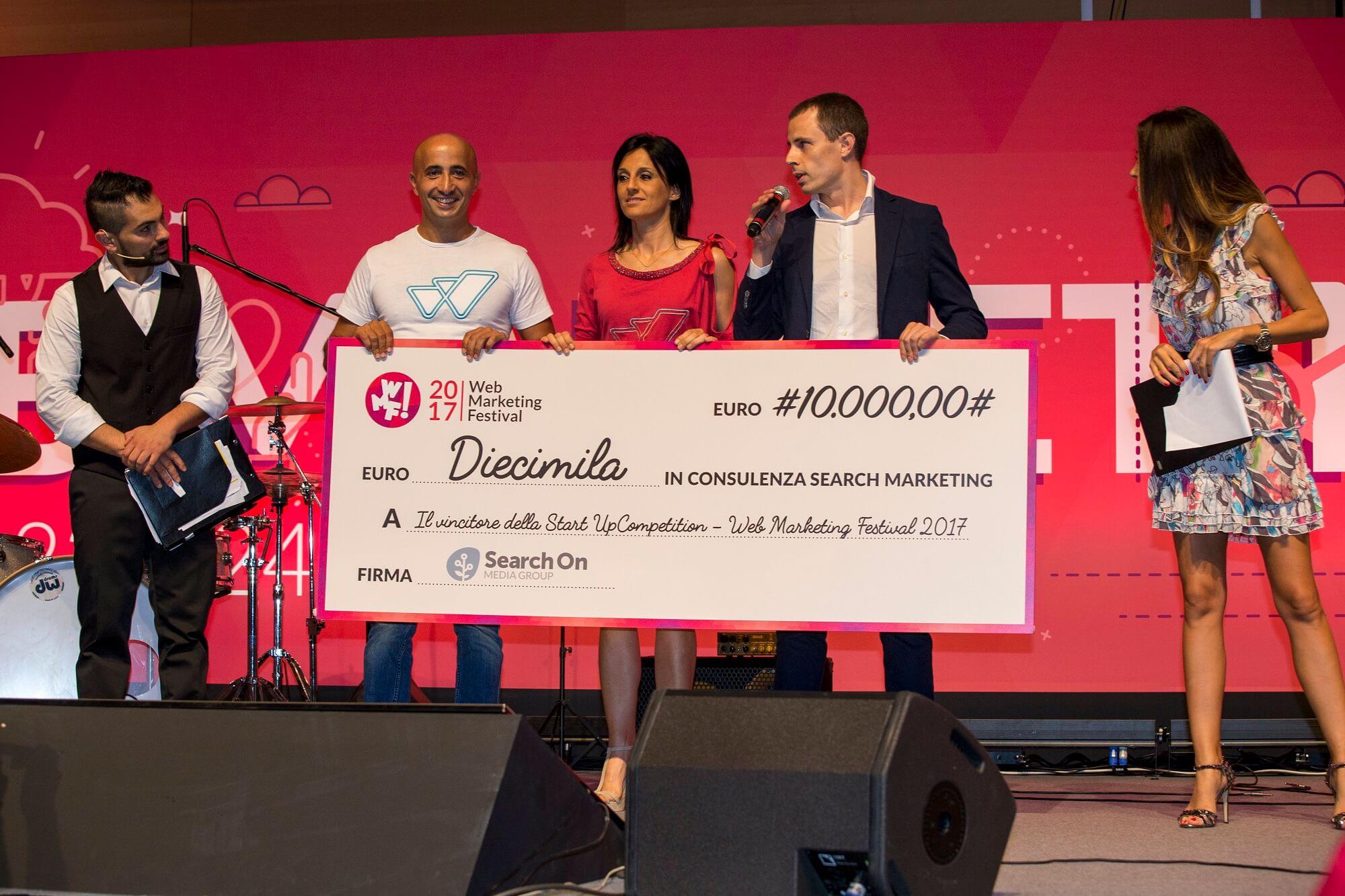 WMF17 startup competition premio Watly mini - Web Marketing Festival, una quinta edizione da record: oltre 12mila le presenze a Rimini