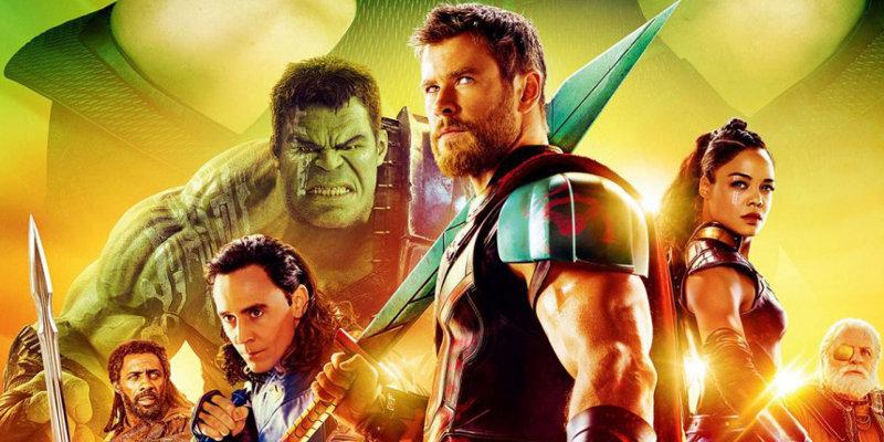Thor Ragnarok Poster Giappone - Nuovo poster per Thor: Ragnarok, la prossima avventura del Dio del Tuono!