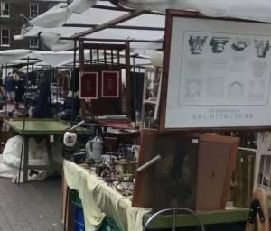 Bermondsey Market in London