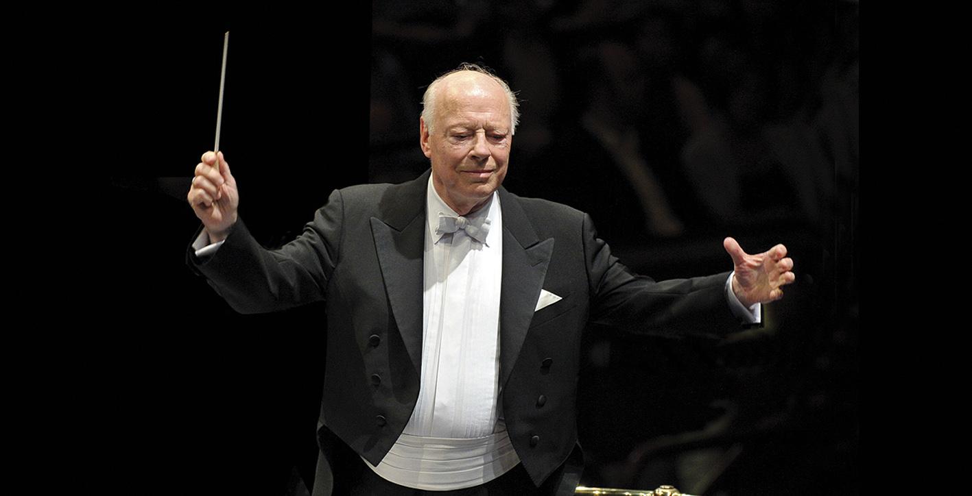 Bernard Haitink - Luganomusica: parte la terza stagione con la musica contemporanea e Chailly