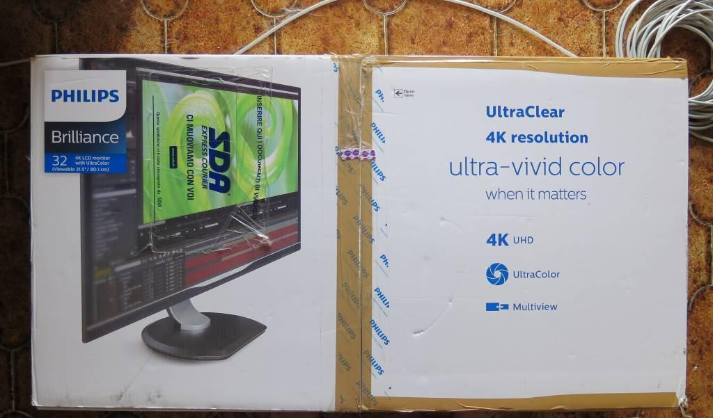 """Scatola 1024x601 - Recensione: Philips 328P - Monitor 4K 32"""""""